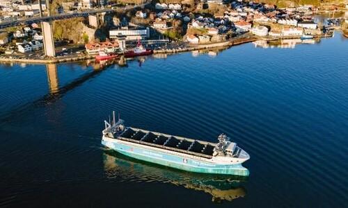 '바다의 테슬라' 자율운항 컨테이너선, 세계 첫 출항 임박