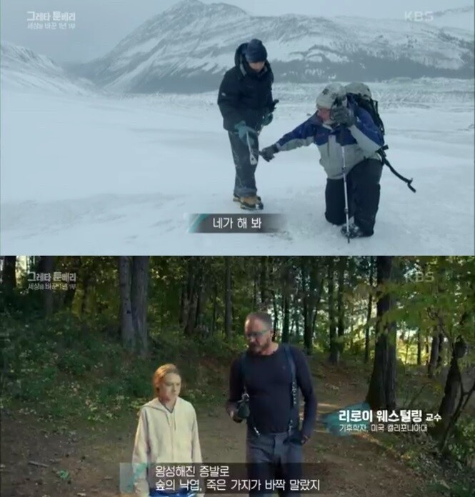 한국방송 다큐멘터리 갈무리