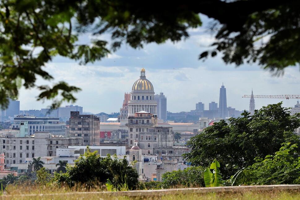 쿠바 하바나 의사당 모습.하바나 / EPA 연합 뉴스