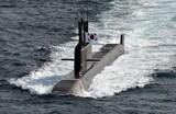 韓国軍、潜水艦発射弾道ミサイルの水中試験発射に成功