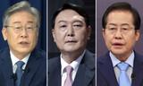 韓国の大統領候補、世論調査では全ての候補に「好感持てない」が多数